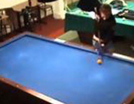 Florian Kohler's astonishing billiard tricks