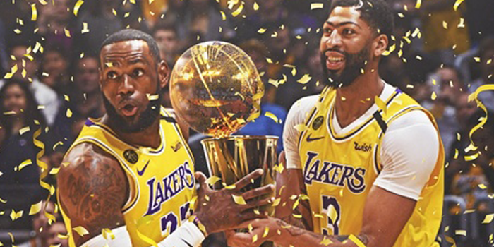 Lebron leads the Lakers to victory