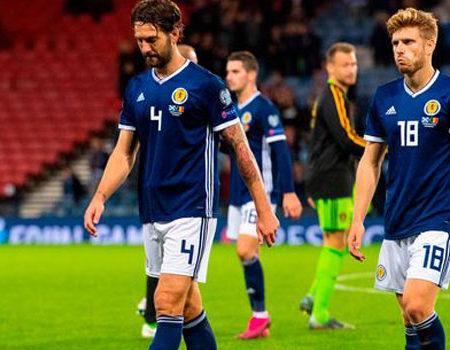 Scotland against the Faroe Islands for their third World Cup qualifier