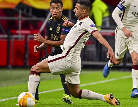 Roma against Ajax. Everything is possible
