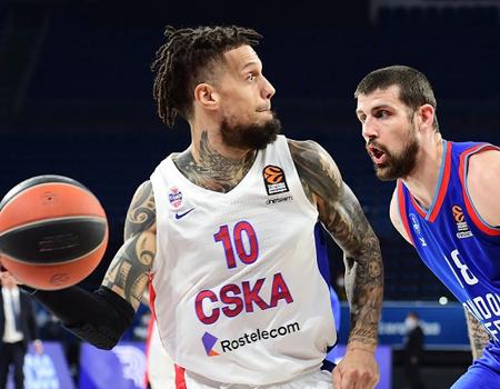 CSKA Moscow-Anadolu Efes: Marginal Turkish domination