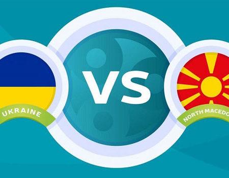 أوكرانيا تلتقى مع مقدونيا الشمالية الليلة