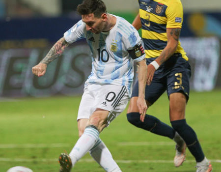 Argentina – Colombia for the semifinals of the Copa America 2021.