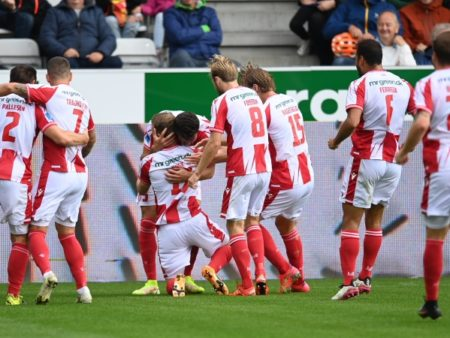 Aalborg faces the Odense team in the 9th game in the Danish Superligaen